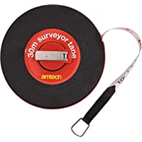 Am-Tech P1800 Surveyor Tape, 30 m
