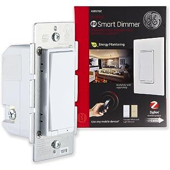 Ge Z Wave Plus Smart Lighting Control Light Dimmer Switch
