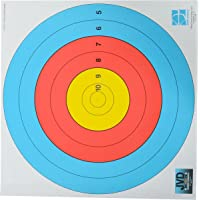 Jvd Archery Target Face 10-5 Ring, 80 cm (Official) Made In Netherlands (Pack of 3)