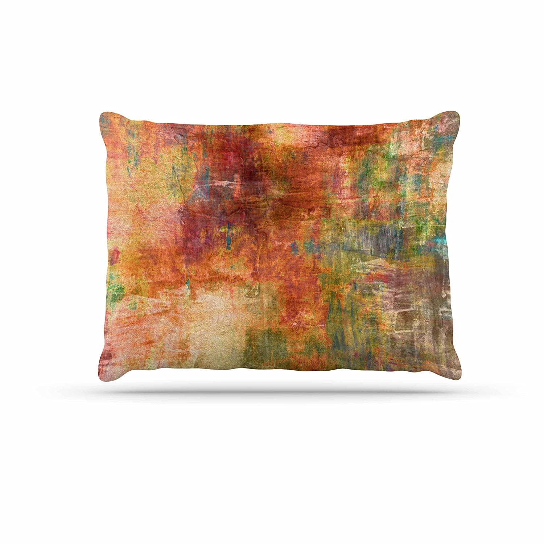 KESS InHouse EBI Emporium Winter Waves 2  Pink Watercolor Dog Bed, 30  x 40