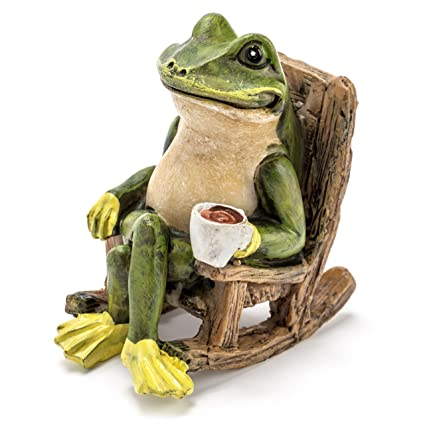 Excellent Miniature Frog Garden Statue 2 Tall Mini Outdoor Accessory Figurine For Fairy Garden Ocoug Best Dining Table And Chair Ideas Images Ocougorg