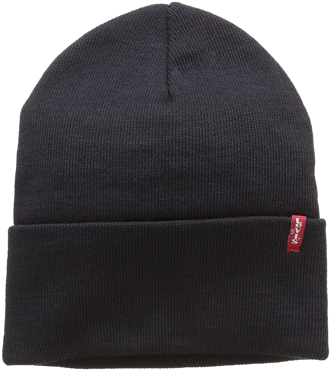 Levi's New Slouchy Beanie W Red Tab Detail, Cuffia Unisex-Adulto Cuffia Unisex - Adulto Blu (Blue) Taglia unica Levi' s