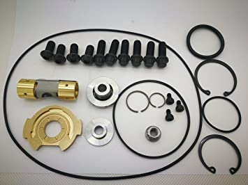 Abcturbo Turbocharger turbo repair kit rebuild kit GT37VA GT3782VA GT3788VA for Ford Powerstroke 6.0L 239KW Engine Navistar
