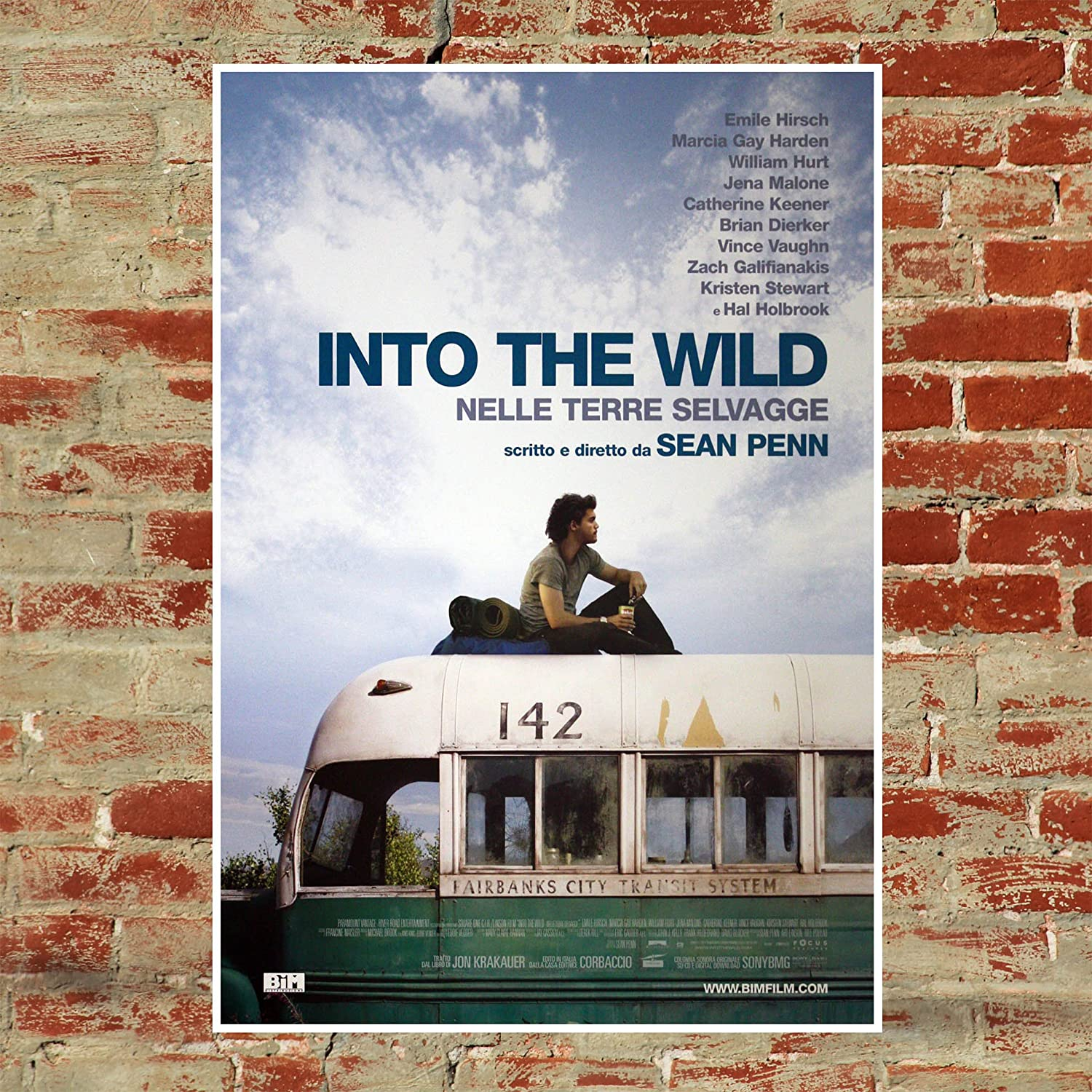 Movie Poster Into The Wild Size:70x100 CM