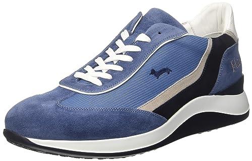 cdb2780eae Harmont & Blaine Sneaker Uomo, Blu (Blue), 42 EU: Amazon.it: Scarpe ...