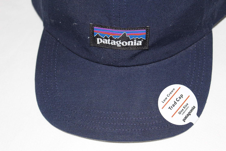Patagonia Mens P-6 Label Trad Baseball Cap Classic Navy Blue Hat 38207 FA18