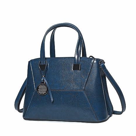 Bolsas De Viaje Bolsos Hobo Bolsas Casuales Carteras Para Mujeres-Azul 30x13x22cm(12x5x9inch)