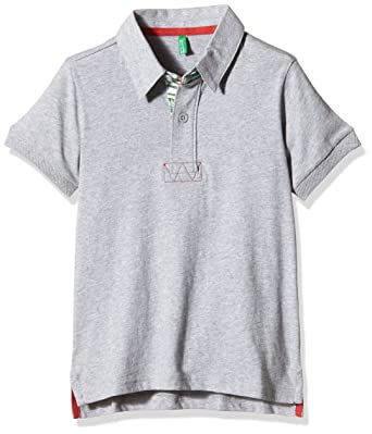 United Colors of Benetton 3BL0C3042 Polo, Gris (Multicoloured), 8 ...