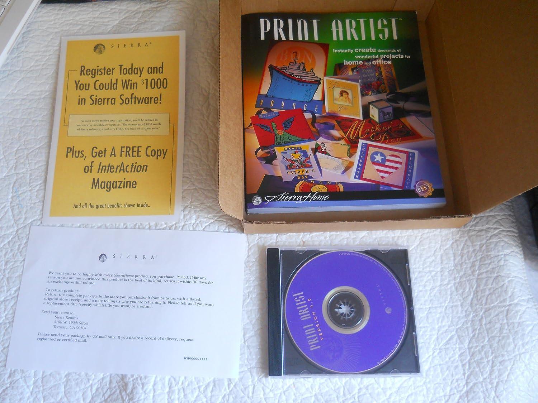 Print artist gold 25 | print software | nova development.