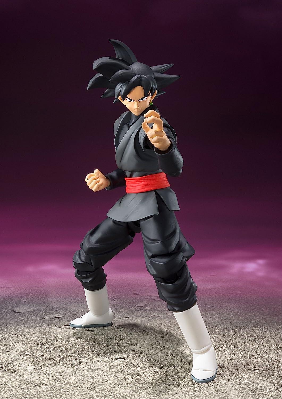 SHF S.H.Figuarts Dragon Ball Super Saiyan Goku Black Zamasu Rose Action Figure @