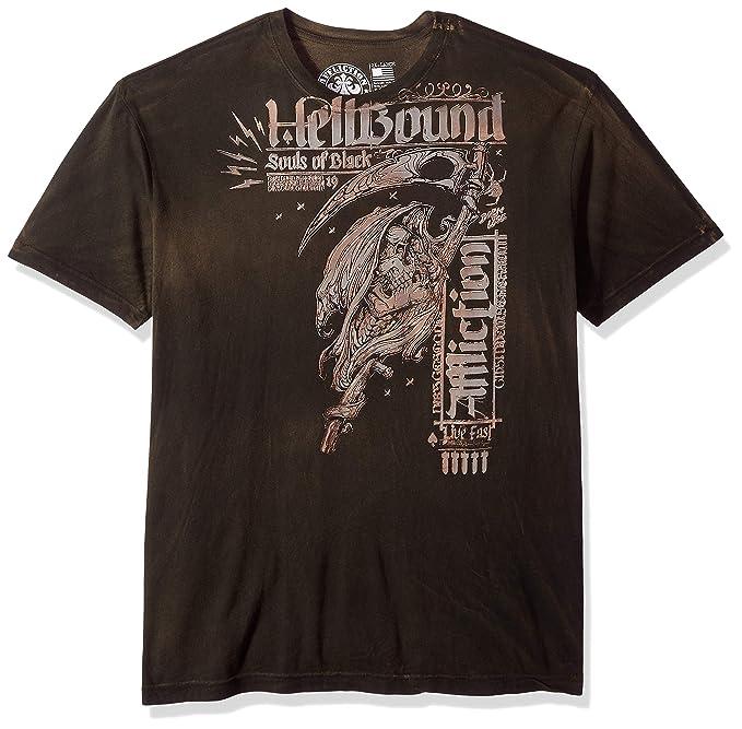 c1f97b02 Affliction Men's Apparel Mens Black Sun Shirt: Amazon.ca: Clothing &  Accessories