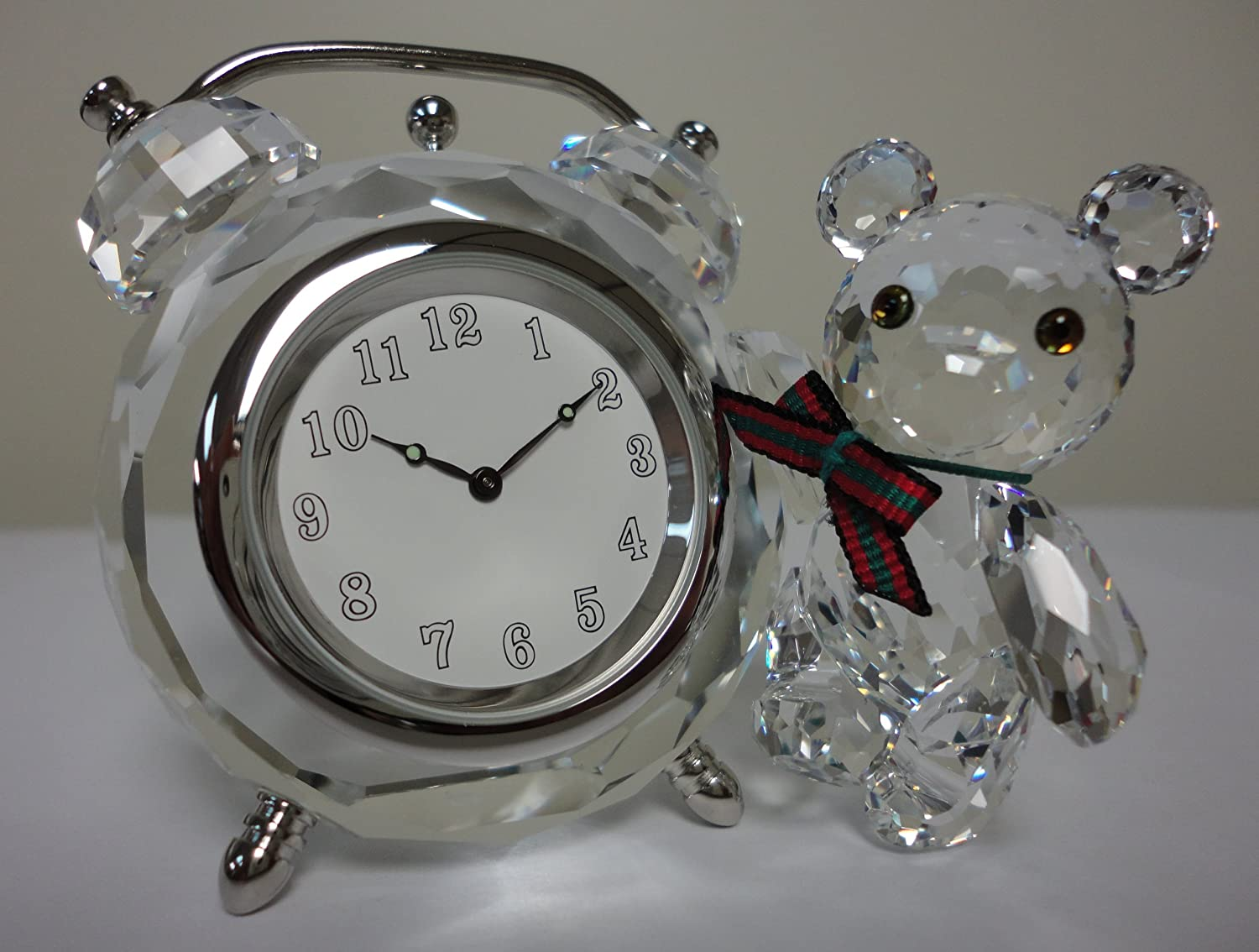 Swarovski Kris Bear Table Clock 7481NR000001