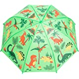 Kids Umbrella - Childrens 18 Inch Rainy Day Umbrella - Dinosaurs