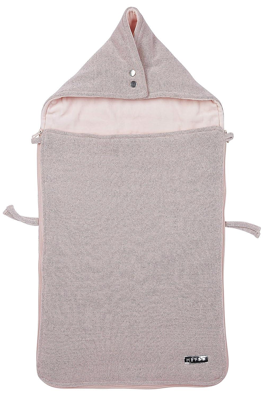 Meyco 2740002 Saco terciopelo forrado Knit Basic Deluxe con ...