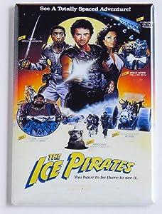 Ice Pirates Movie Poster Fridge Magnet (2 x 3 inches)