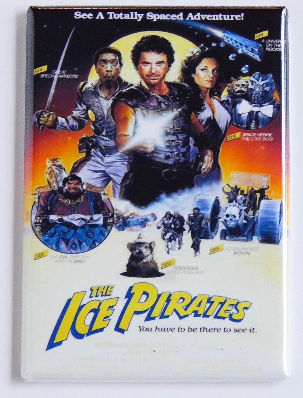 Ice Pirates Movie Poster Fridge Magnet (2.5 x 3.5 inches)
