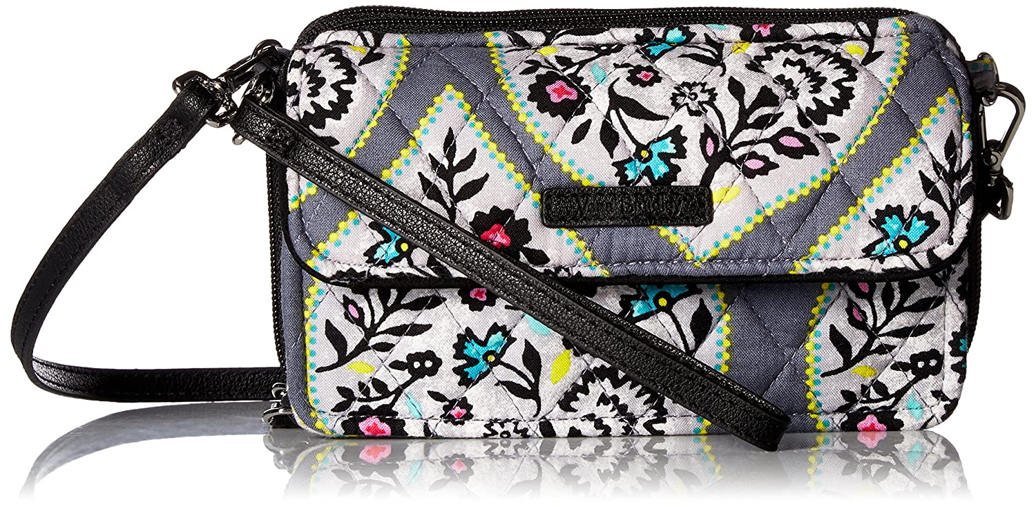 Vera Bradley RFID All in One Crossbody, Signature Cotton Autumn Leaves 21941