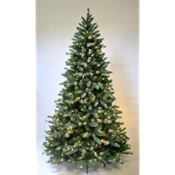 pre lit hinge christmas tree the most realistic starlight mountain spruce artificial christmas tree christmas - Real Looking Artificial Christmas Trees