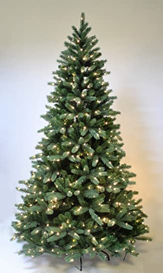 HOLIDAY STUFF Pre- lit Hinge Christmas Tree The Most Realistic Starlight  Mountain Spruce Artificial Christmas - Amazon.com: HOLIDAY STUFF Pre- Lit Hinge Christmas Tree The Most
