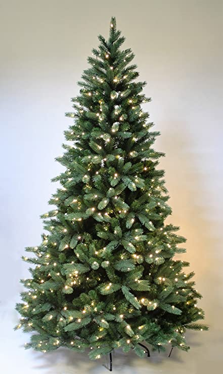 Pre- lit hinge Christmas Tree The Most Realistic Starlight Mountain Spruce Artificial  Christmas Tree Christmas - Amazon.com: Pre- Lit Hinge Christmas Tree The Most Realistic