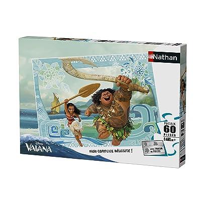 Pas Cher Nathan 86573 Puzzle Vaiana Maui 60 Pièces