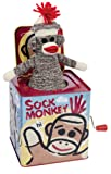 Amazon Price History for:Schylling Sock Monkey Jack in the Box