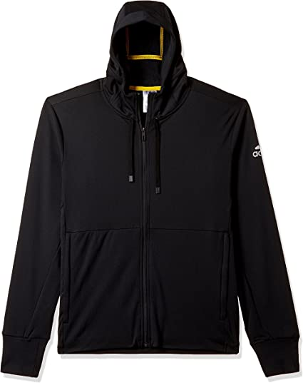 adidas Herren Climawarm Hooded Workout Jacke: