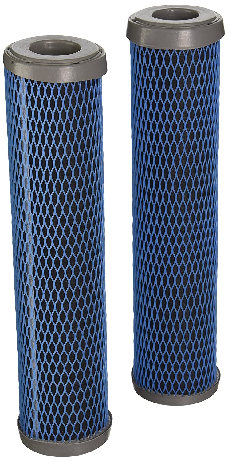 Culligan D-15 Basic Drinking Water Filtation Replacement Cartridge, 250 Gallons (2 Pack), Single Unit, white