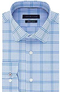 6df2a1d1 Tommy Hilfiger Men's Non Iron Slim Fit Gingham Buttondown Collar ...