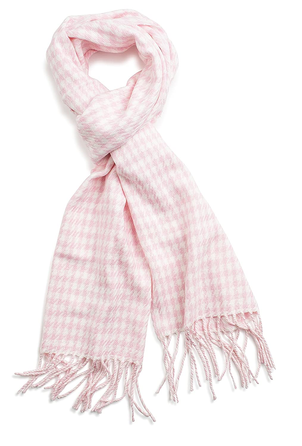 Veronz Super Soft Classic Cashmere Feel Winter Scarf 60 Day Warranty Beige Buffalo Checks VER-BFC2-71-1