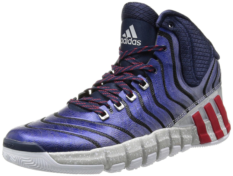 adidas Adipure Crazyquick 2.0 - Zapatillas de baloncesto Hombre 50 2/3 EU|Blau (Collegiate Navy / Light Scarlet