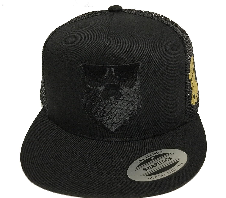 El Señor De La Barba Y El Chapo Guzman 2 Logos Hat Black Mesh Snapback at Amazon Mens Clothing store:
