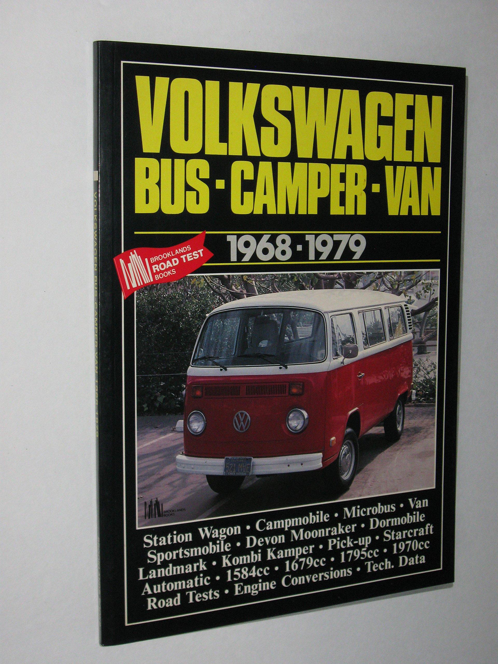 Volkswagen Bus Camper Van :BRO (Brooklands Books Road Tests Series)