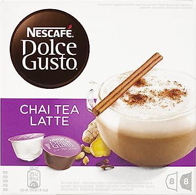 Nescafé Dolce Gusto - Chai Tea Latte - Cápsulas de té - 16 ...