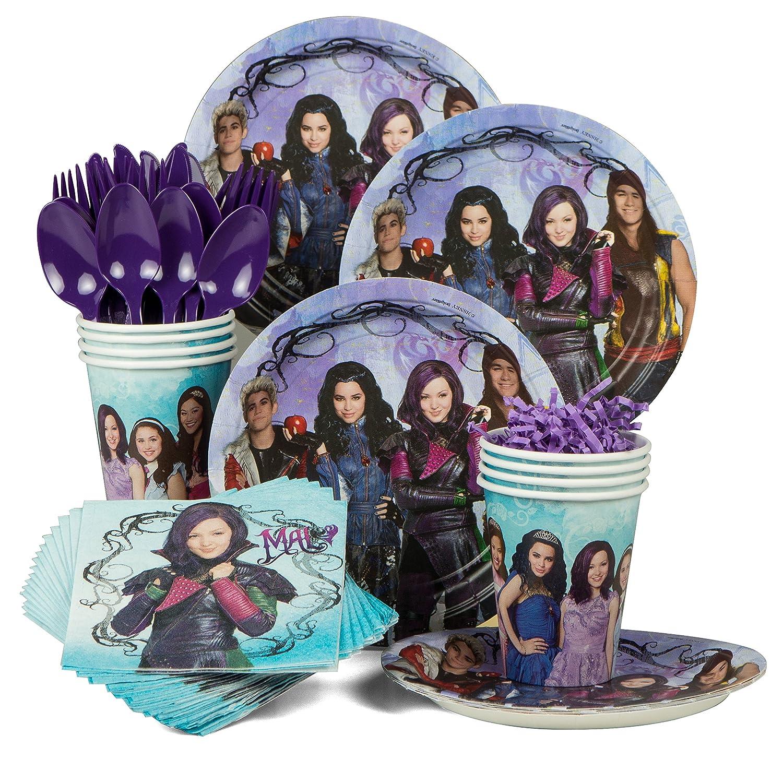 Disney Descendants Birthday Party Standard Tableware Kit Serves 8