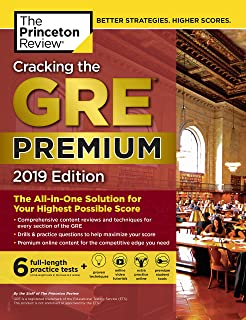 1 007 gre practice questions 4th edition graduate school test cracking the gre premium edition with 6 practice tests 2019 the all in fandeluxe Images