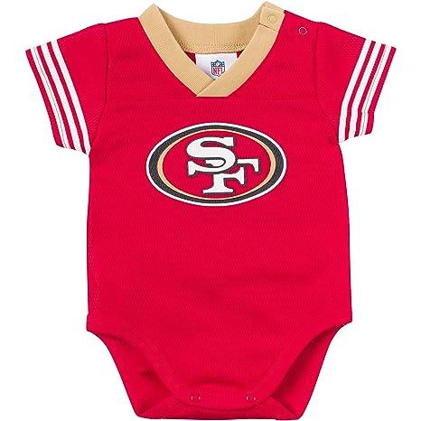 Amazon.com   NFL San Francisco 49Ers Unisex-Baby Dazzle Mesh V-Neck ... 2f70c2573