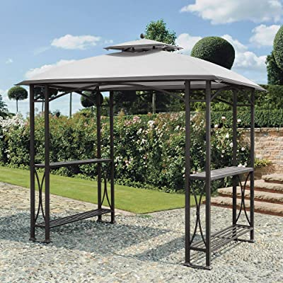 Sunjoy 110109181 Original Replacement Canopy for Grill Gazebo (8X5 Ft) L-GG040PST-A Sold at Sam's, Sesame: Garden & Outdoor
