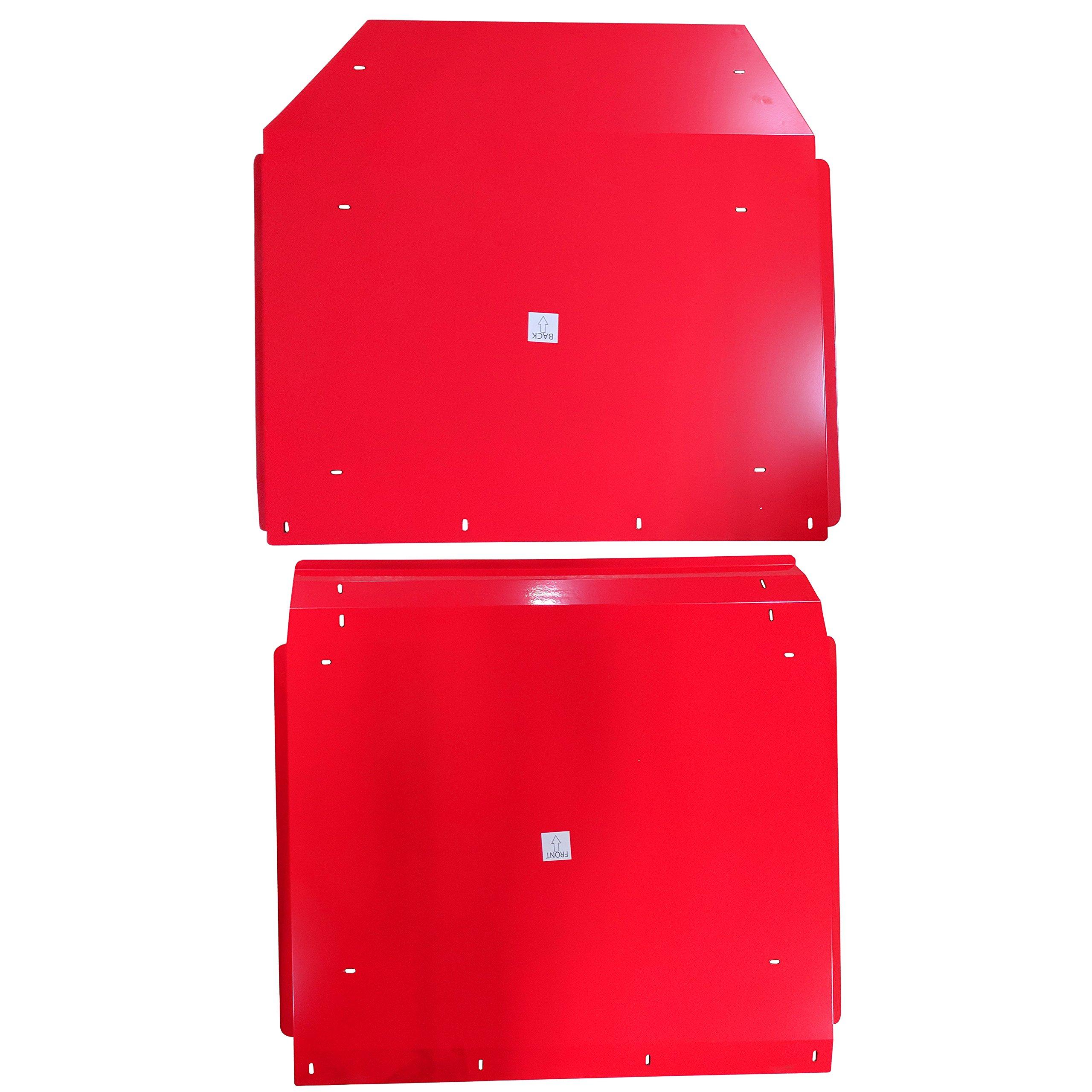 Titan Red Aluminum Roof fits Polaris RZR 4-Door