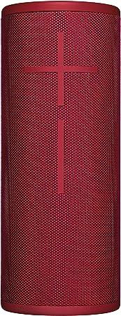 Ultimate Ears Boom 3 Tragbarer Bluetooth Lautsprecher 360 Sound Satter Bass Wasserdicht Staubresistent Sturzfest One Touch Musiksteuerung 15 Stunden Akkulaufzeit Sunset Red Rot Audio Hifi