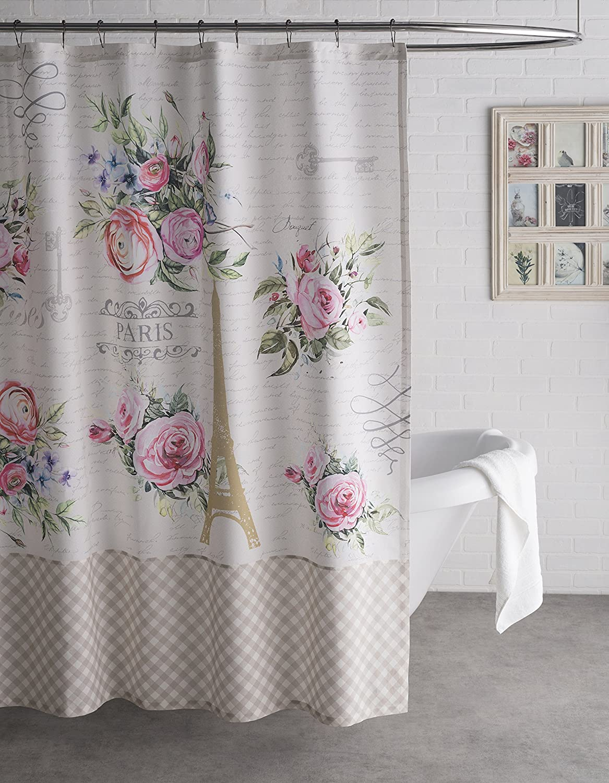Amazon Fleur De Lis Shower Curtains - Amazon com maison d hermine champ de mars 100 cotton shower curtain 72 inch by 72 inch home kitchen