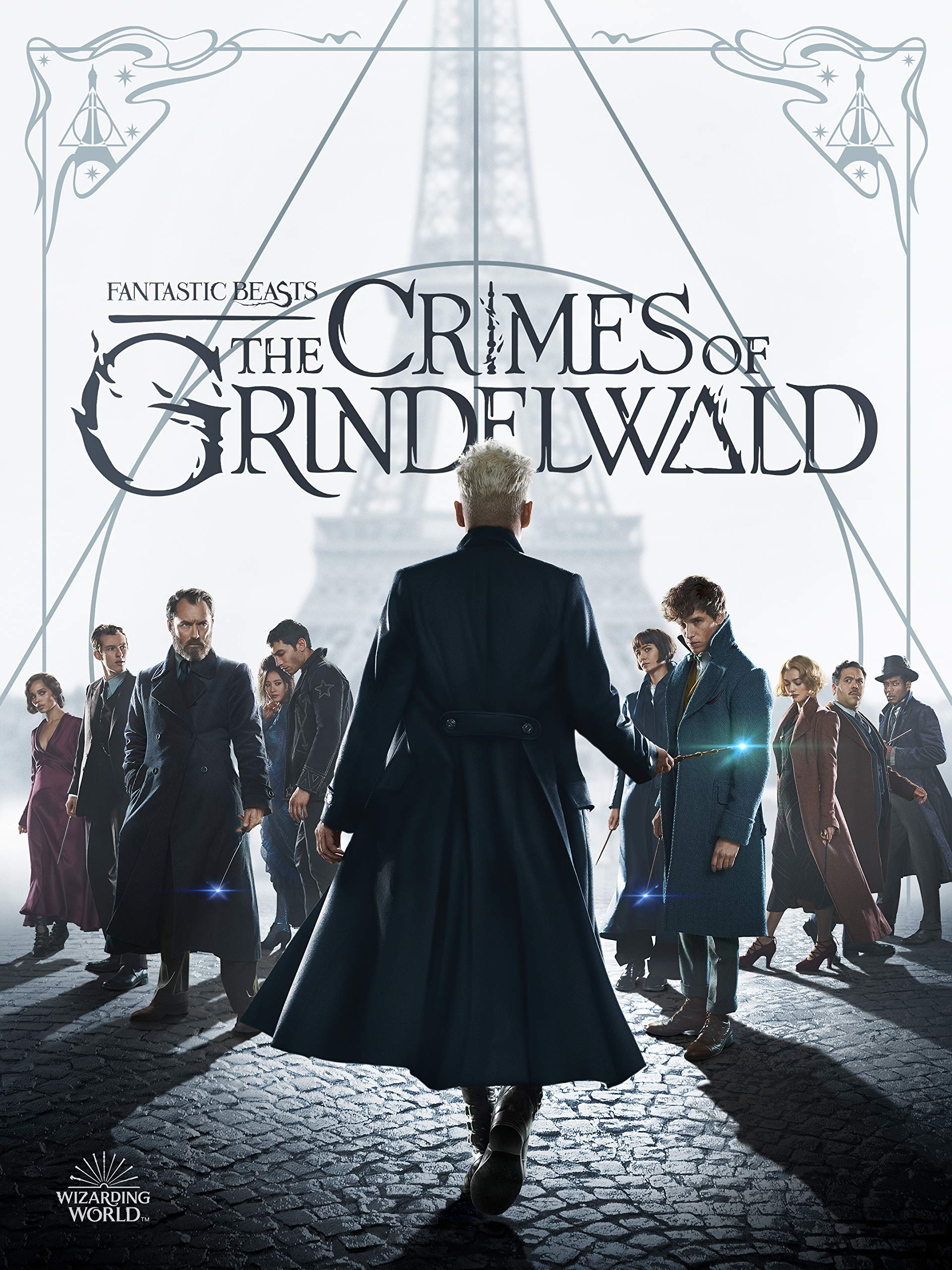 4K Blu-ray : Fantastic Beasts: The Crimes Of Grindelwald (With Blu-ray, 4K Mastering, Digital Copy)