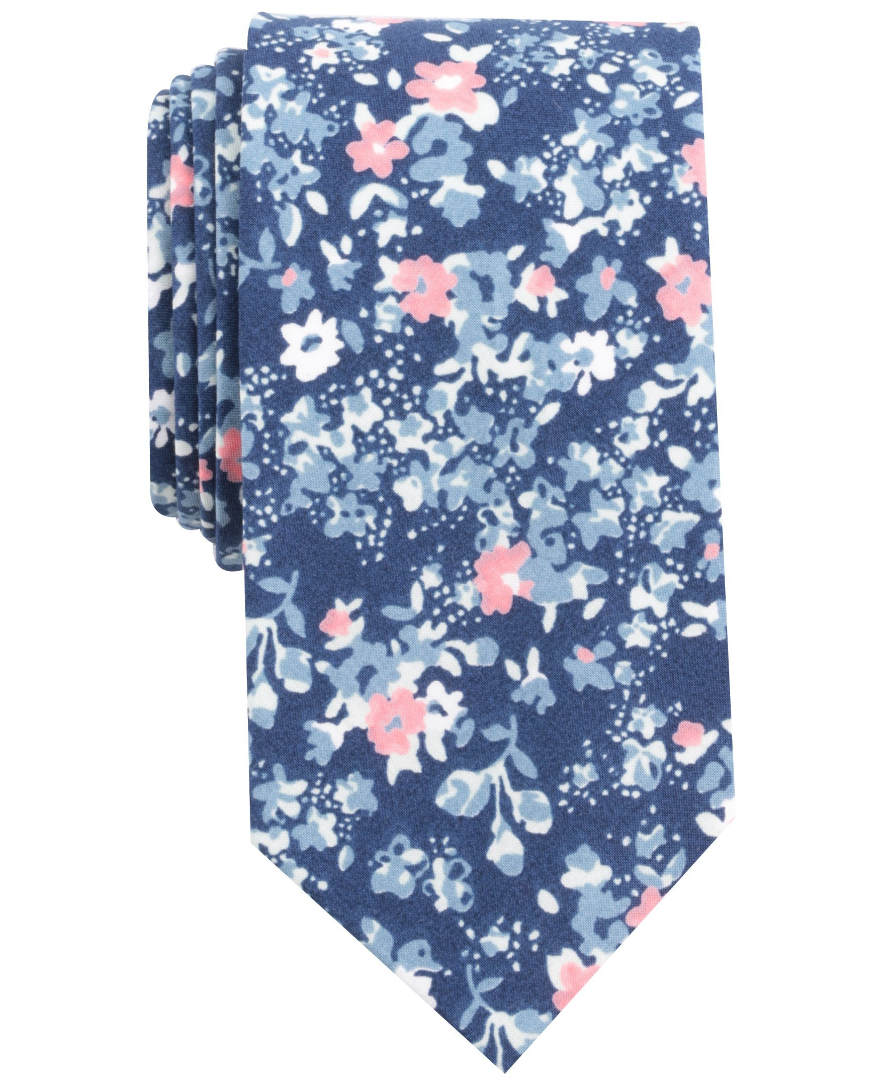 Original Penguin Men's Bimini Floral Tie, Blue/Navy, One Size