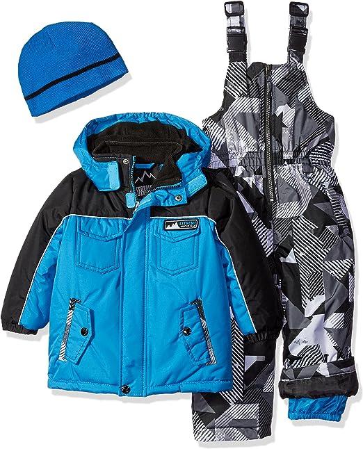 iXTREME Boys Toddler Boys Active Colorblock Snowsuit