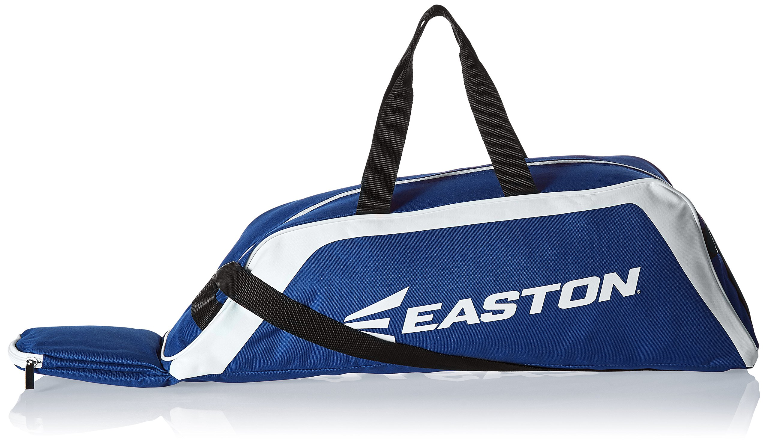 EASTON E100T Youth Bat & Equipment Tote Bag | Baseball Softball | 2019 | Royal | 2 Bat Compartment | Main Gear Compartment | Fence Hook | Shoulder & 2 Handle Straps by Easton