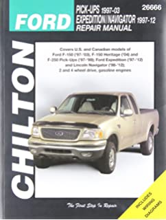 Ford pick upsexpedition and lincoln navigator 1997 2009 chiltons chilton total car care ford f 150 97 03 fandeluxe
