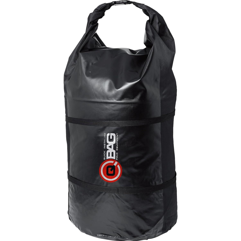 Qbag - Bolsa con forma de rollo, impermeable, 90 litros, color negro