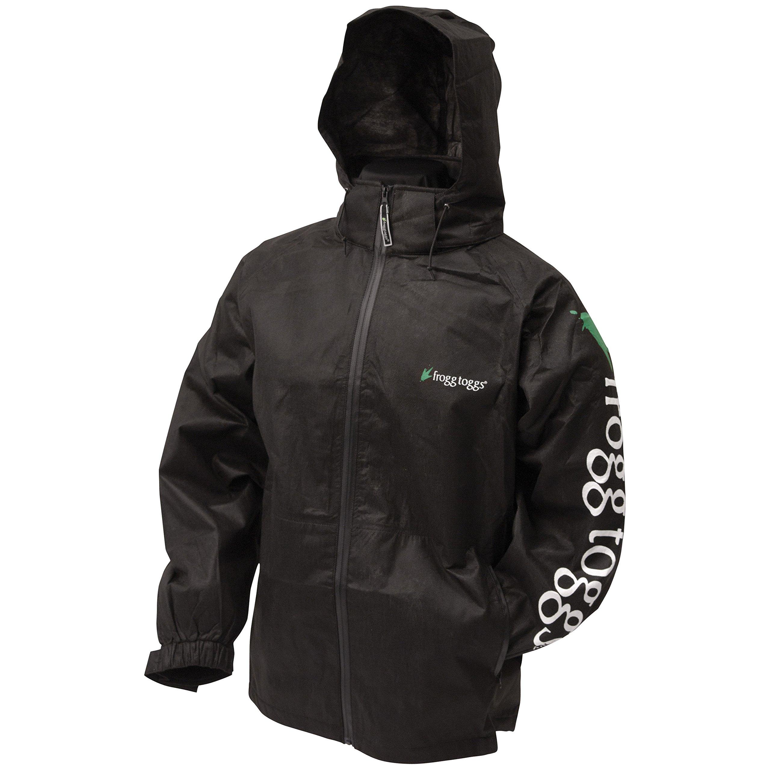Frogg Toggs All Sports Full Zip Logo Jacket (Medium, Stone)