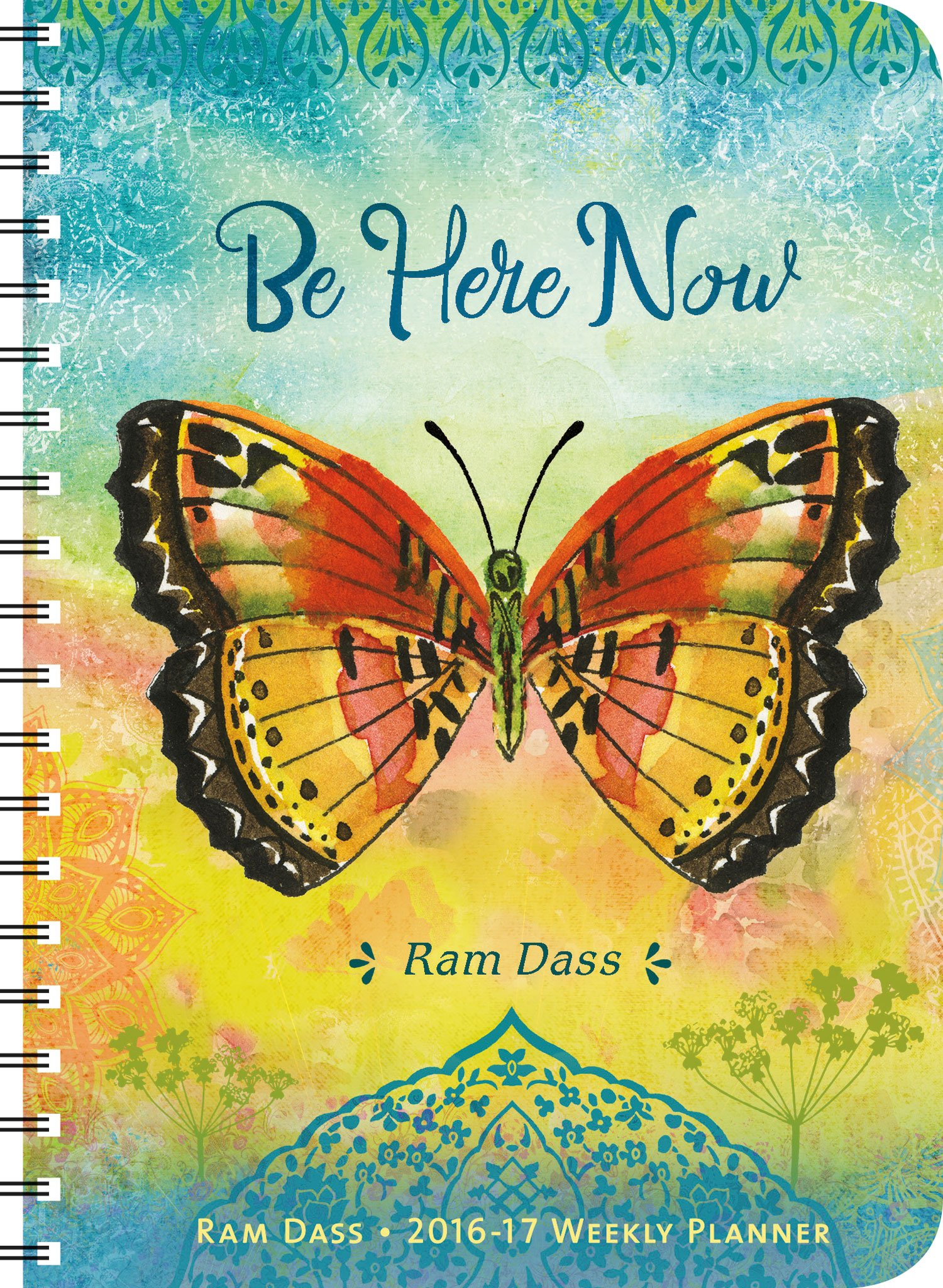Ram Dass 2016 – 2017 On-the-Go Weekly Planner: 17-Month Calendar with Pocket PDF