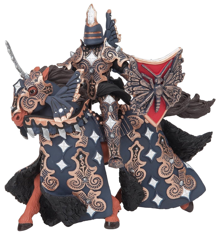 Papo 38980 - Figura de guerrero Dark Butterfly con caballo